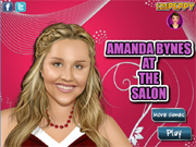 Amanda Bynes at the Salon