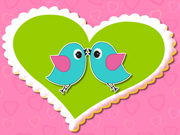 Valentine Love Birds