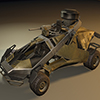 Futuristic Patrol Vehicle