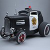Hot Rod Police Car