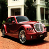 Red Luxury Car